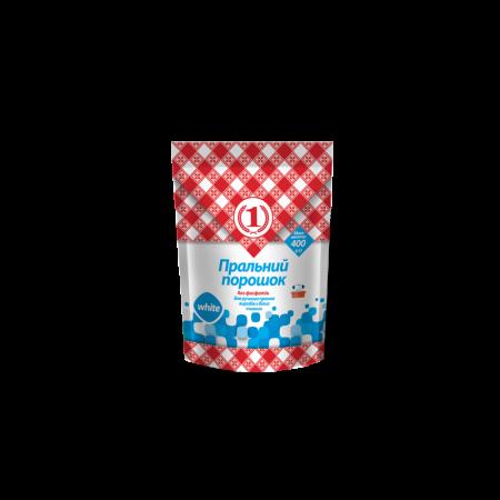 Пральний порошок для ручного прання виробів з білих тканин ТМ «1»